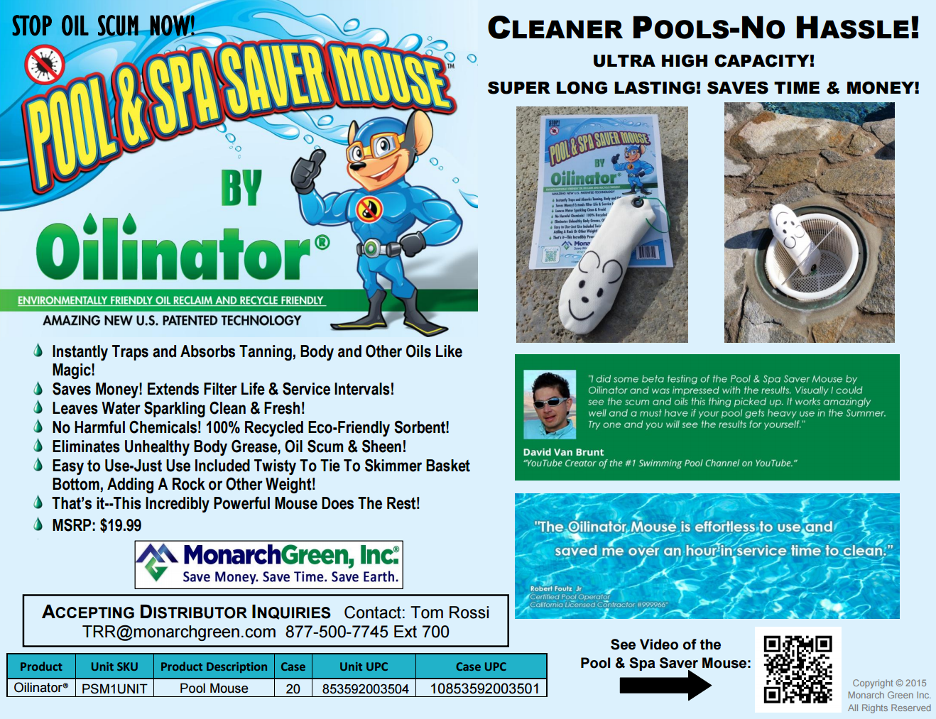 Cleaner Pools - No Hassle! | Pool & Spa Cleaning Products - Pool ...